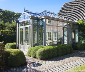 Engelse tuinkamer, veranda in cottage stijl